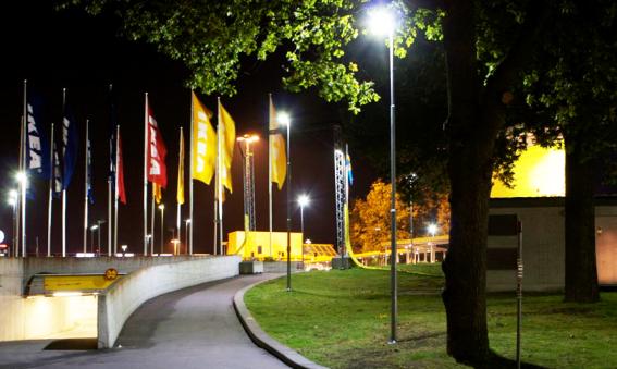 IKEA Kungens Kurva får bättre ljus och bidrar till bättre miljö