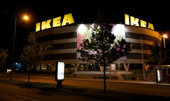 IKEA - 70% energibesparing på fasad och skyltbelysning