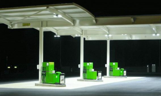 Lägre energiförbrukning och höjd säkerhet på bensinstationer