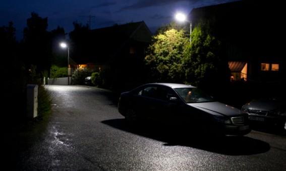 Ukulelen Vägförening i Täby skaffar LED