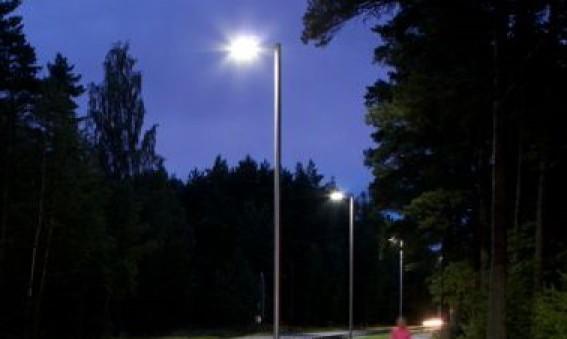 MondeVerdes LED-armaturer får högt betyg i Trafikverkets test