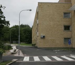 Utomhusbelysning, Oskarshamns sjukhus