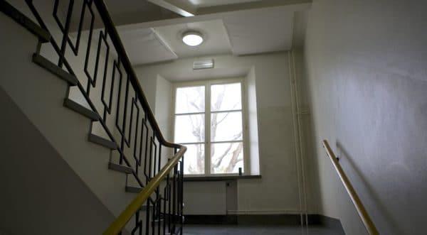 Balder satsar på effektiv LED-belysning i trapphus