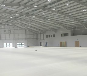 Idrottshall, Polo Farm Sports Centre