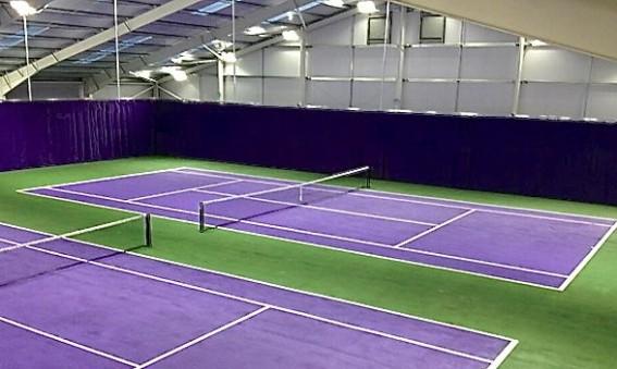 tennisbanor av absoluta världsklass