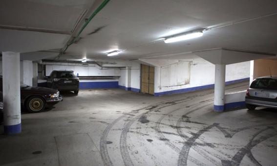 Smart LED-belysning i Greenparks parkeringsgarage