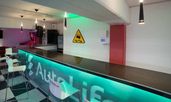Bättre och energisnålare belysning i Autolife-garaget