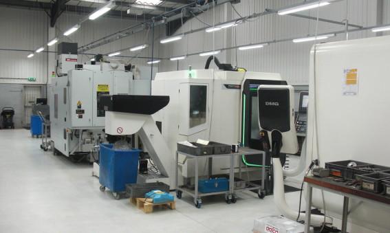 GMT CNC Machining gör en energibesparing med 67 %