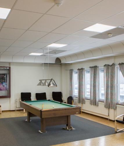Dagsljusvit och uppiggande belysning på kontoret
