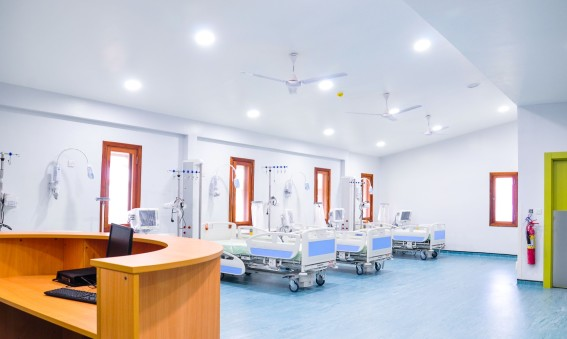 Lansering av det första distriktssjukhuset i Ghana