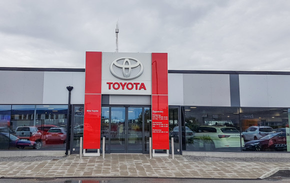 Toyota servicecenter i Malmö