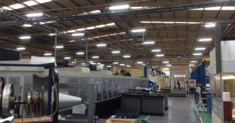 Bromford Industries spar en halv miljon kronor med LED