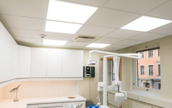 Ny belysning på Brahekliniken