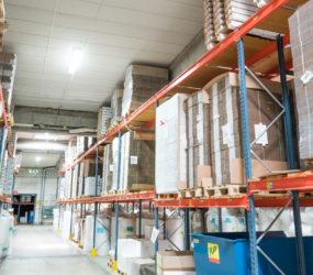 Smart-LED belysning i Antalis lager