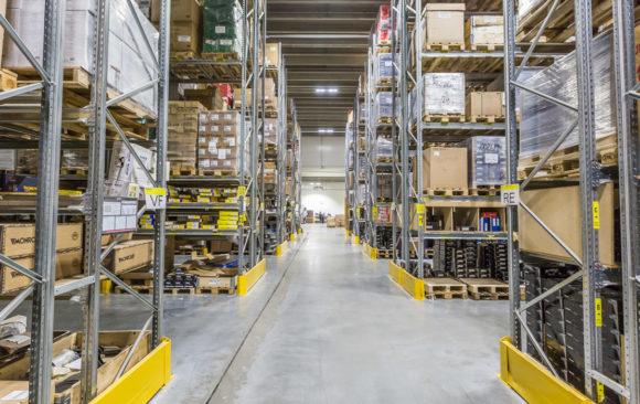 Smart LED i Mekonomens centrallager