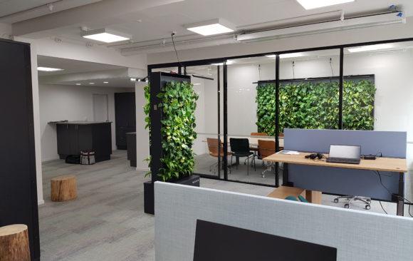 Naava väljer Smart LED till sin mötesplats i centrala Stockholm