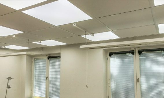 Stressforskningsinstitutet har ny belysning i ljuslabbet