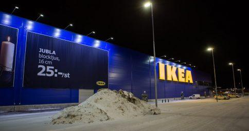 Effektiv skyltbelysning till IKEA i Borlänge