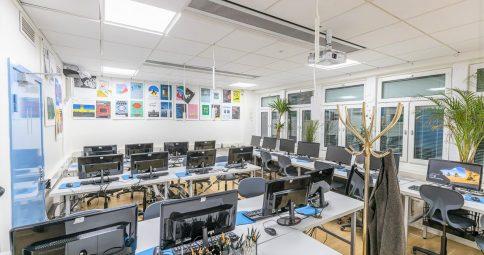 Designgymnasiet skapar en kreativ och stimulerande miljö