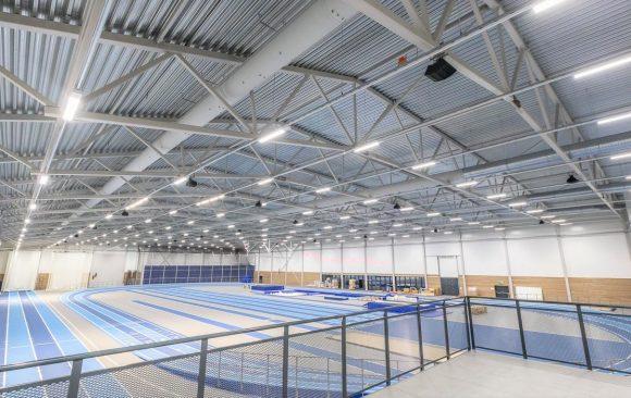 MondeVerde levererar belysning till en ny gymnastik- och friidrottshall i Södertälje