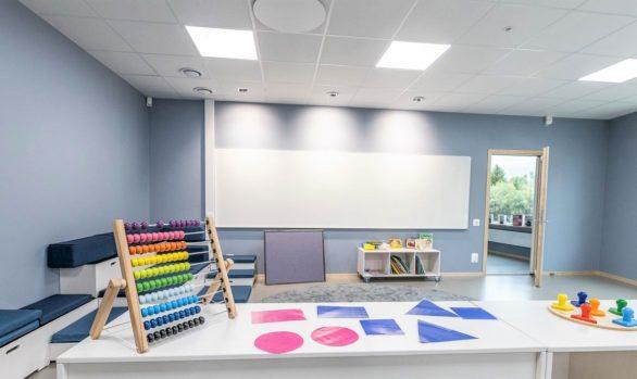 Nybyggd skola i unikt inspirerande hus